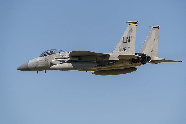 F-15C Eagle 86-0175 493rd FS