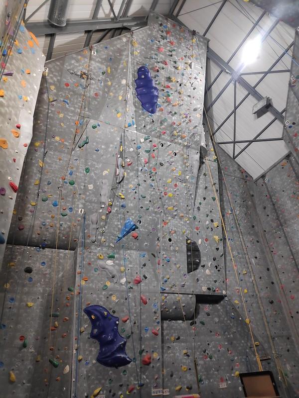 Escalada en Hasselt. Olympia indoor klimmuur