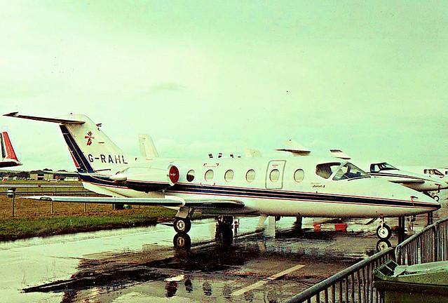 G-RAHL Beechjet 400A (RK-61)
