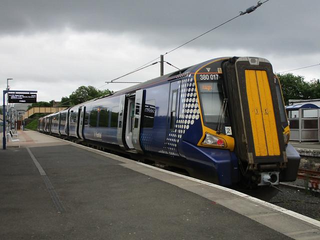 Scotrail 380 017. Largs