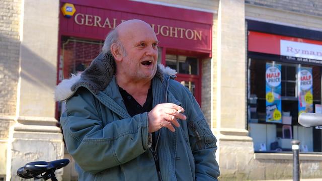This is John- Suffolk Stranger Portrait No 90
