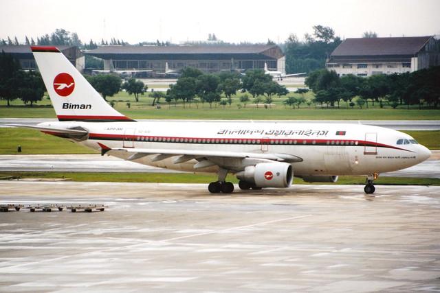 Biman Bangladesh Airlines | Airbus A310-300 | S2-ADE | Bangkok Don Muang