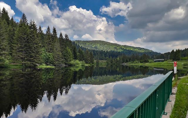 Le lac de Ténine, vallée du Chajoux