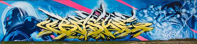 Graffiti 2021 in Karlsruhe