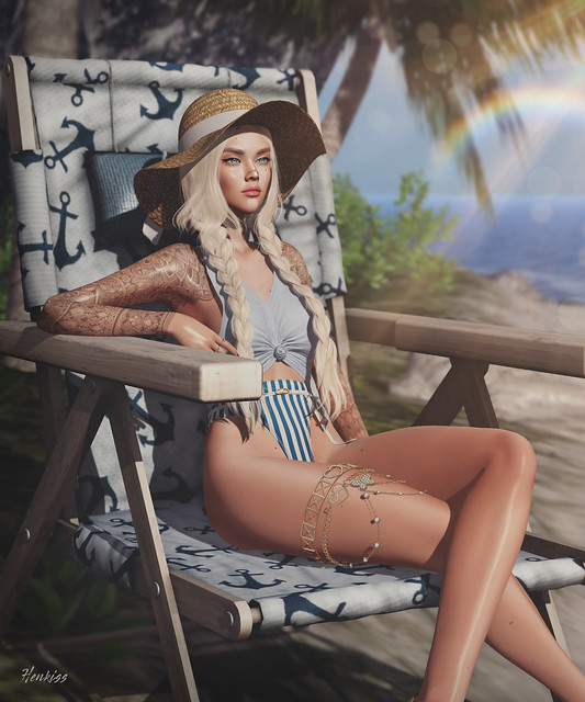 #364 Sunbathing