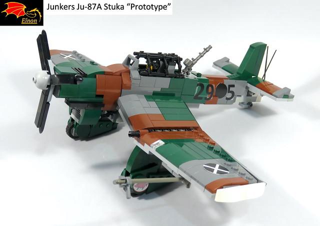 Stuka prototype - 108