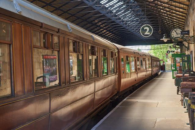 Train Spotting - Pickering Station