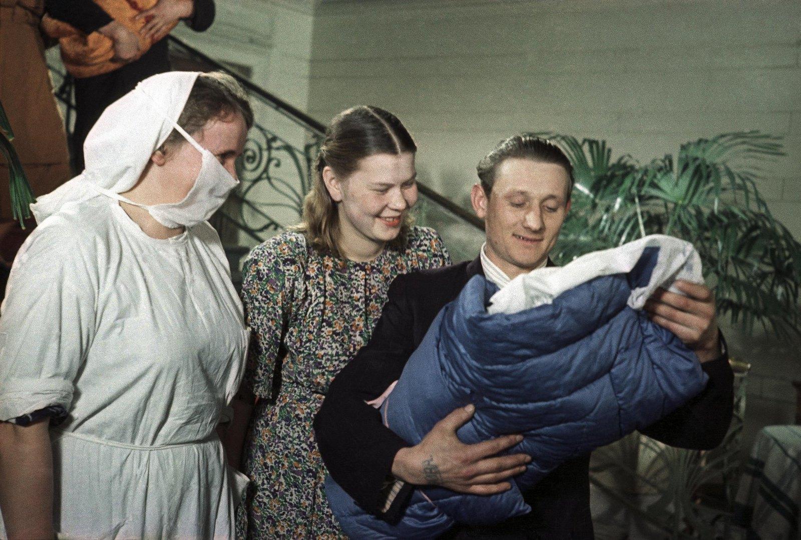 1950. В родильном доме