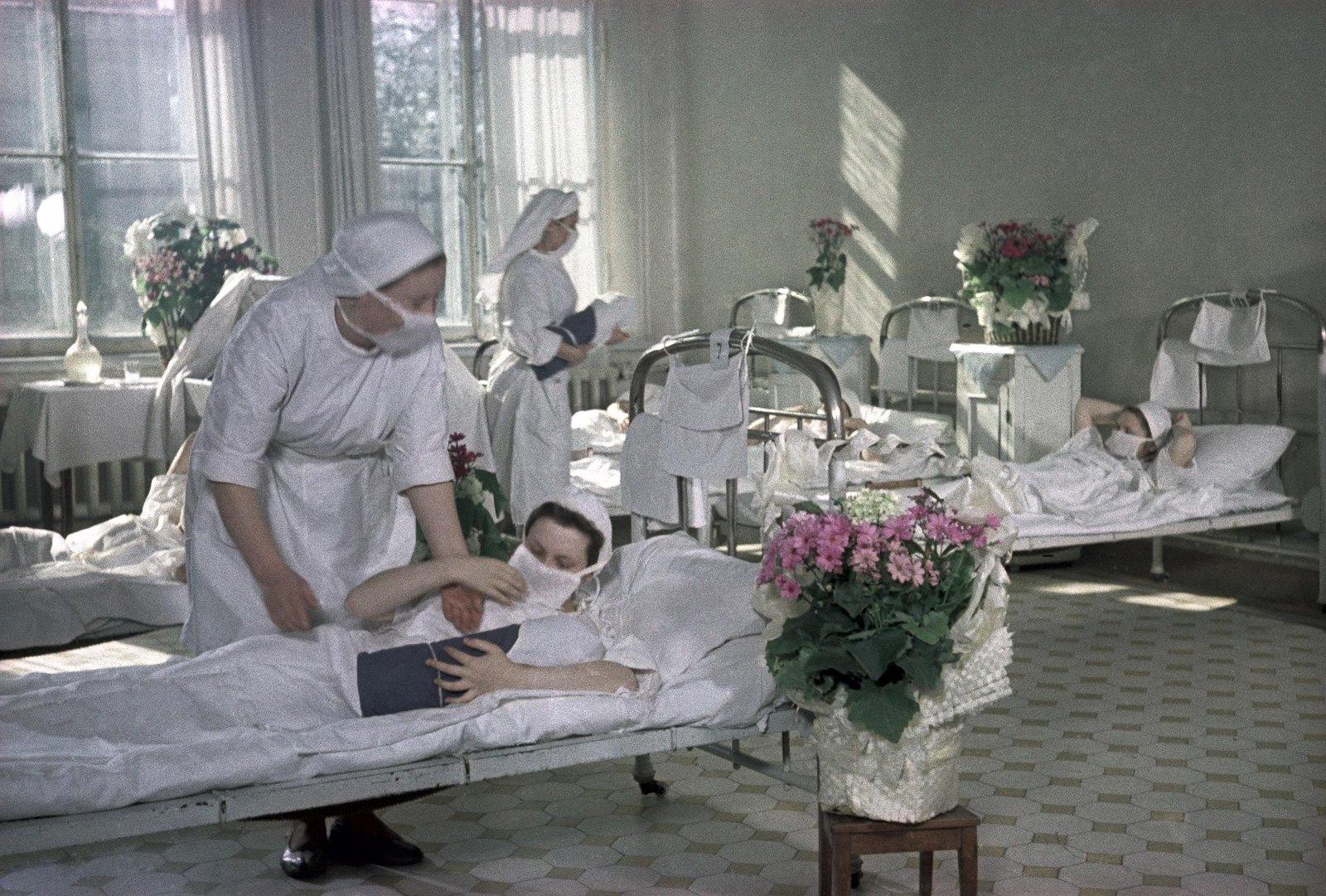 1950. В родильном доме.