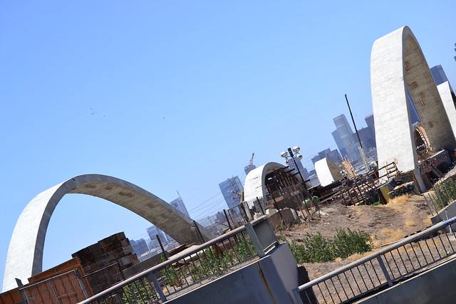 6th street Bridge construction  & surrounding areas