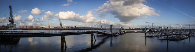 Delfzijl-Emden ferry terminal on the Zeehavenkanal