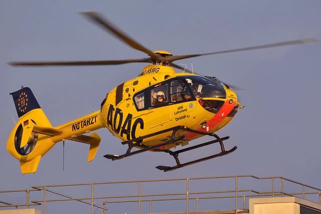 ADAC Luftrettung / Eurocopter EC-135 P2 / D-HSWG