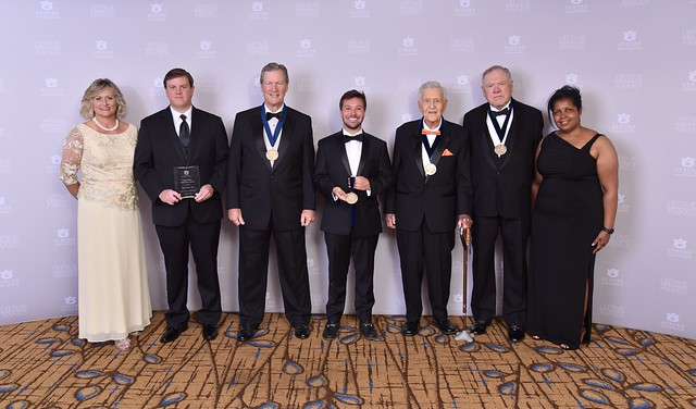 Award winners are pictured at Saturday's Auburn Alumni Association's Lifetime Achievement Awards ceremony