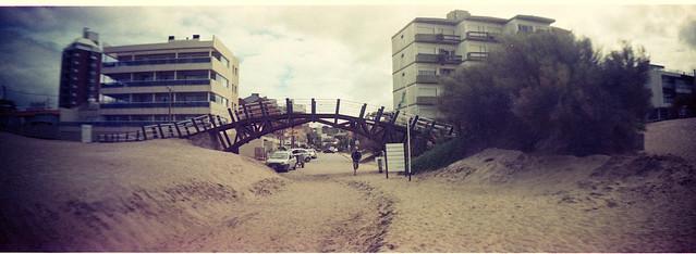Puente a la playa