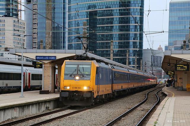 NSR E186 001 Bruxelles-Nord 01-03-2020