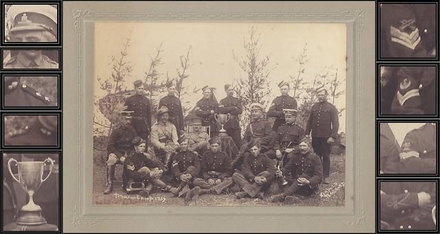 1907 Neapole / Pembroke Photo - Dominion of Canada Artillery Militia Champions of the