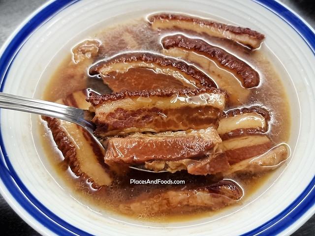 Mei Hua Stewed Pork Sliced