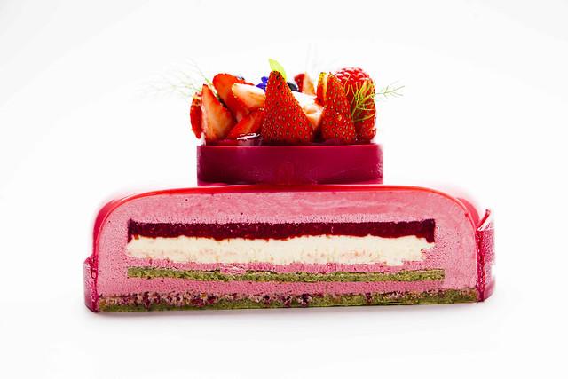 Tarta de yogur, frutos rojos y cheesecake 4-3