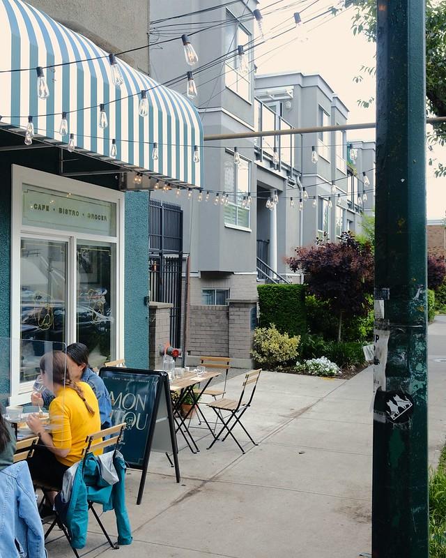 Marché Mon Pitou Café & Bakery   Fairview Slopes, Vancouver