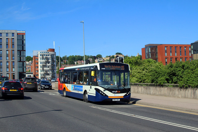 Stagecoach 37459 on Diversion