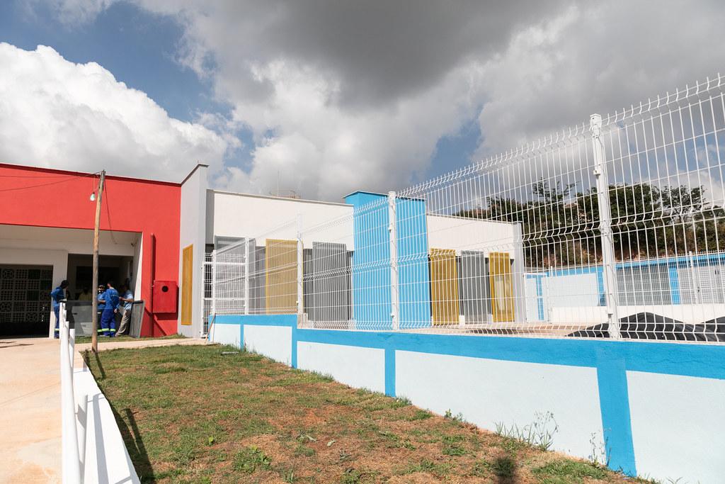 Prefeita Marília Campos visita as obras do CEMEI do Colonial - 12/06/2021