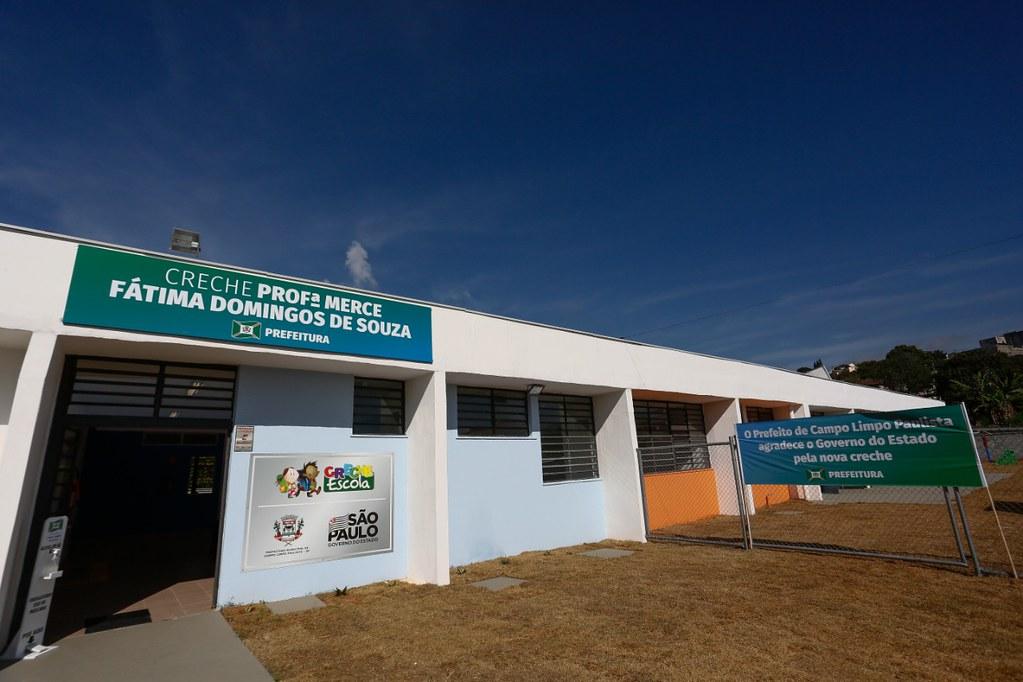 Entrega de Creche Escola em Campo Limpo Paulista