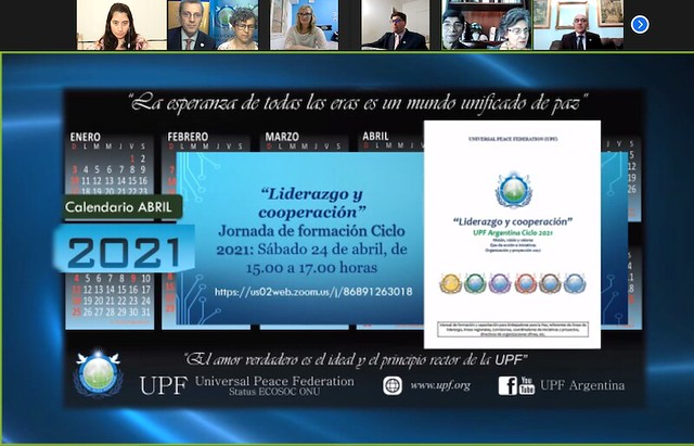 """Argentina-2021-04-24-""""Leadership and Cooperation"""" Is Theme of  UPF-Argentina's Ambassadors for Peace Program"""