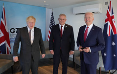 Prime Minister Boris Johnson G7 Leaders Summit Day Two
