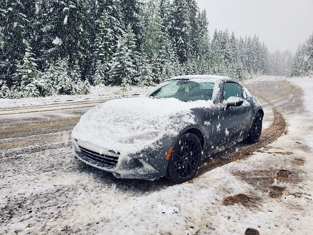 Some June snow