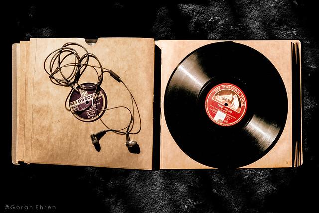 78 rpm & earphones
