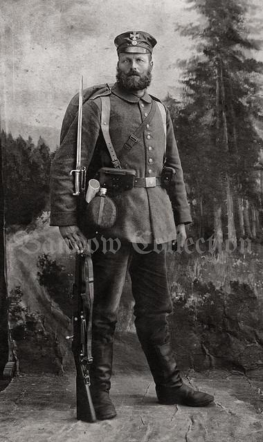 Soldier of Landsturm XV. Armee-Korps / Straßburg i. E.