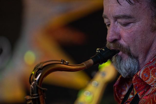 The New Orleans Suspects; Jeff Watkins on tenor