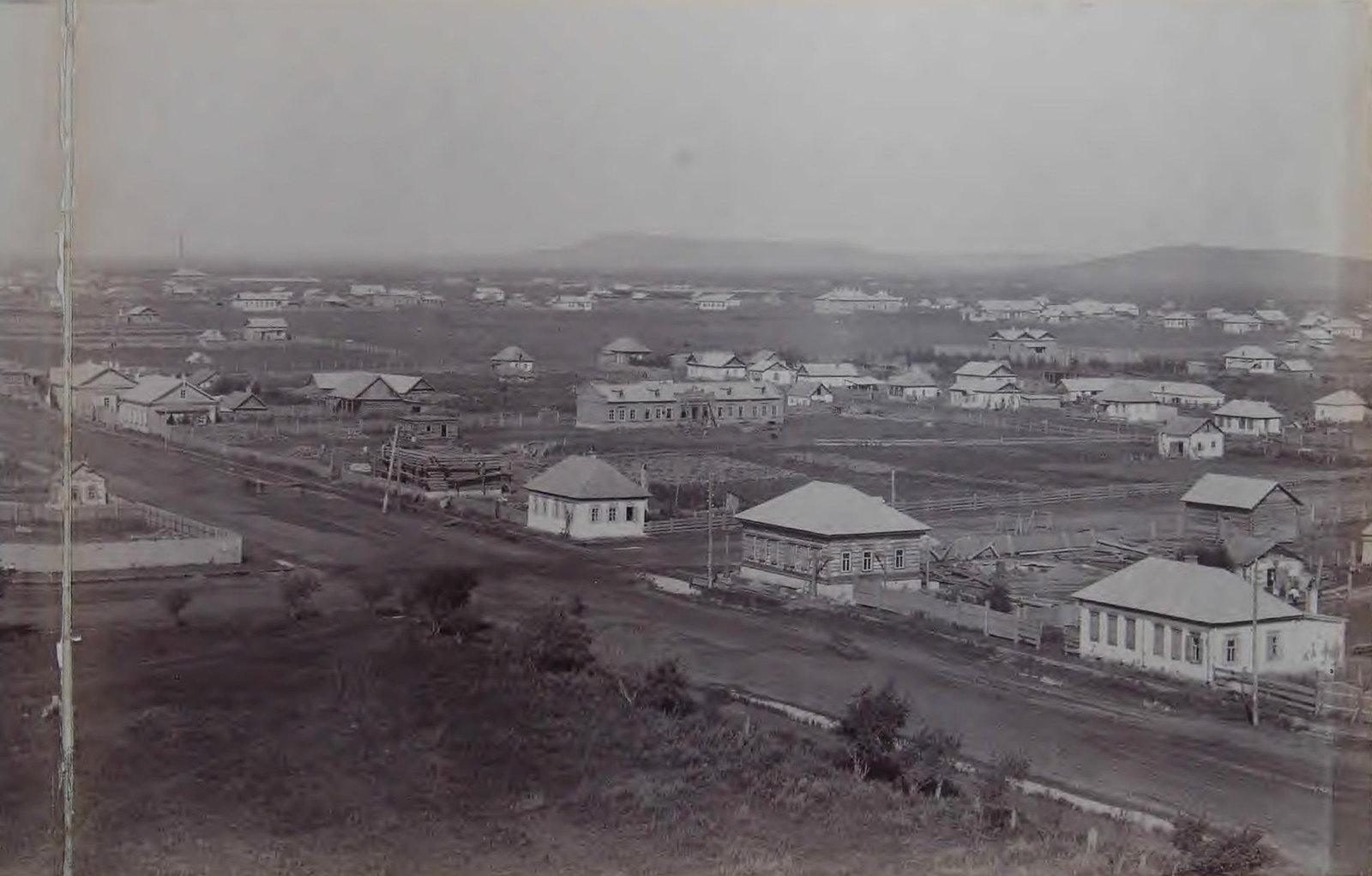 Вид с собора. 1898