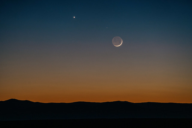 Venus, and the Moon.