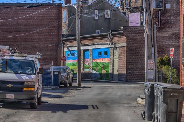 Mural--Back Streets