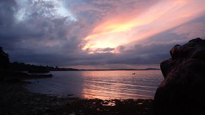 Sunrise at Pulau Ubin