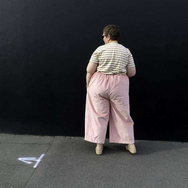 Corduroy Glebe Pants back