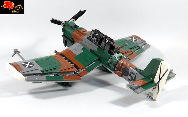 Stuka - rear view