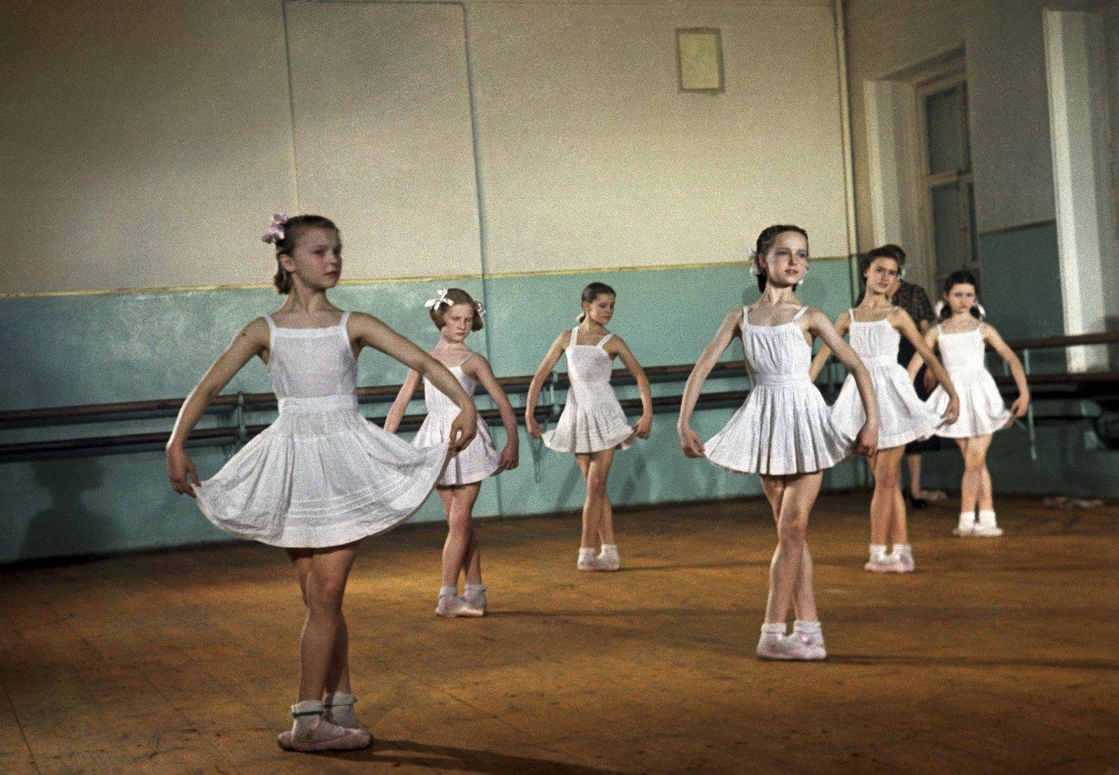 1950-1955. Московское академическое хореографическое училище