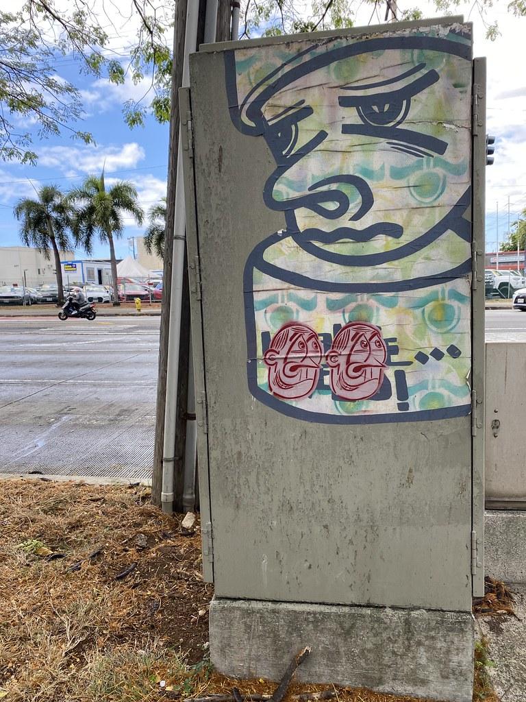 Honolulu Hawaii Graffiti, 2021