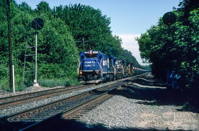 Coke Train at MP 81 Signals