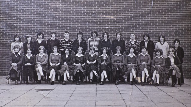 Class Picture, Thorncliffe School, Barrow , 1977