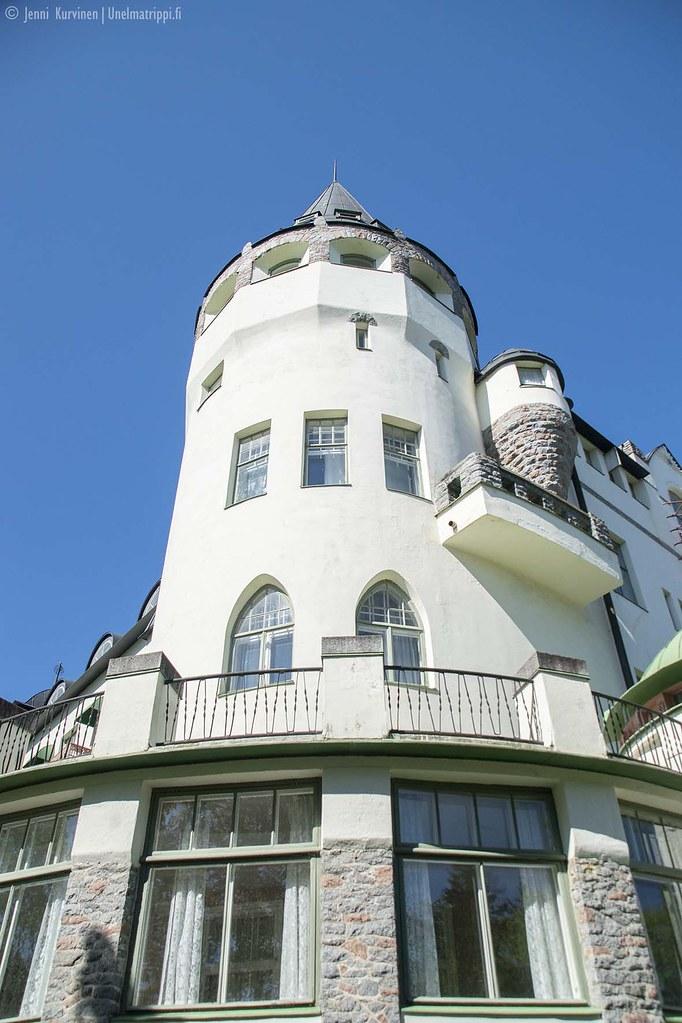 Imatran Valtionhotellin torni