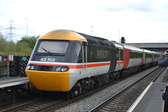 East Midlands Railway HST 43274 & 43102 The Journey Shrinker