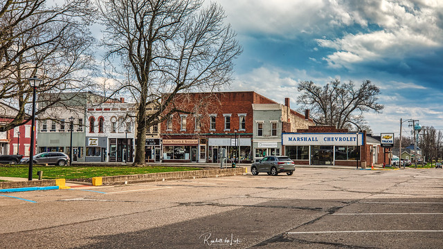 South Side Of Square, Winchester, Illinois (1 of 2)