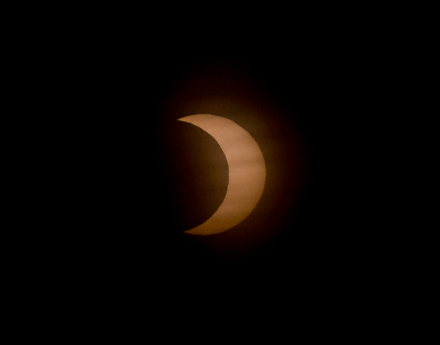 Sunrise Partial Eclipse *Explore*