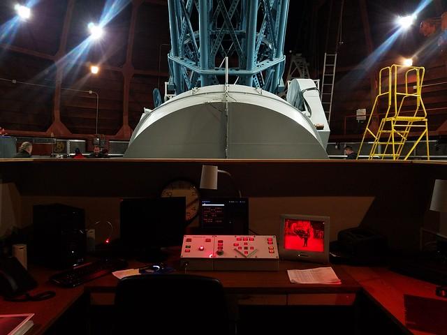 Telescope operator booth
