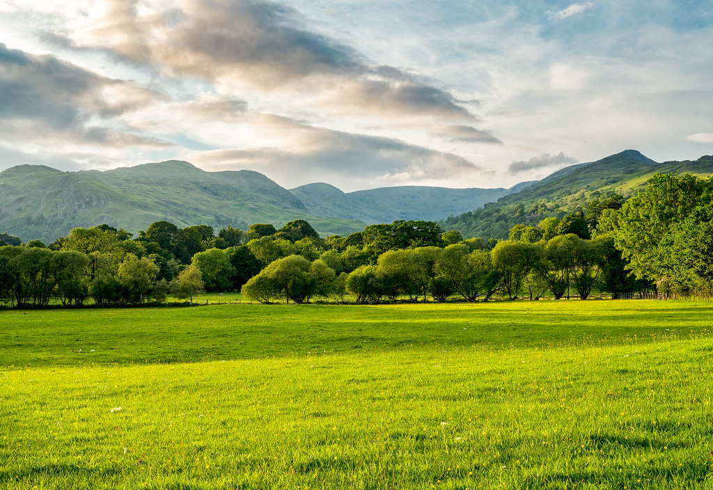 Late afternoon view of Fairfield Horseshoe
