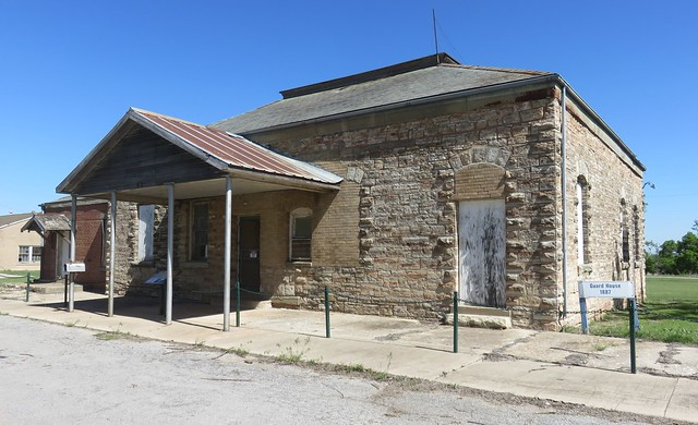 Old Fort Reno Jail and Post Office (Canadian County, Oklahoma)