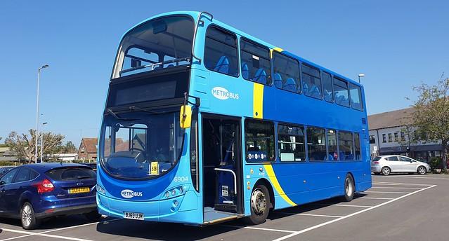 Metrobus 6904 (BJ63 UJM) Barnham Station 13/6/21